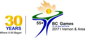 Vernon-55plus Games Logo - 30 years_4C